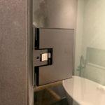 Beslag voor douchedeur