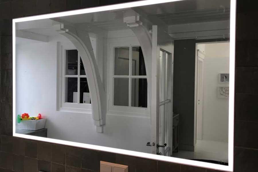 Verkaikglas spiegels