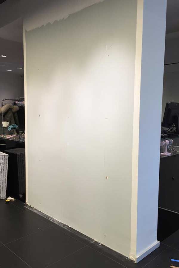 Verkaikglas Passpiegel kledingwinkel
